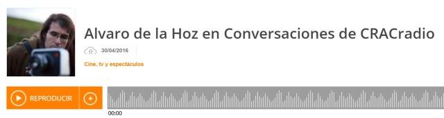 Alvaro de la Hoz en Conversaciones de CRACradio