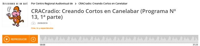 Creando Cortos en CRACradio1