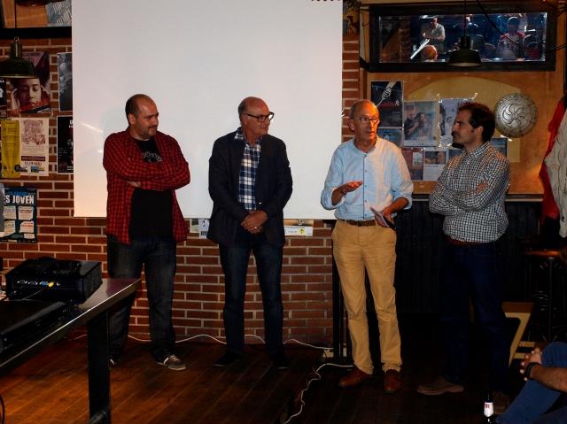 Fco. OCeja, Mariano Monedero, Gonzalo F, J.L. Santos